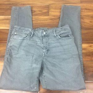 American Eagle flex gray skinny jeans-32